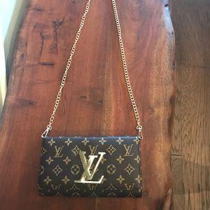 Designer inspired purse